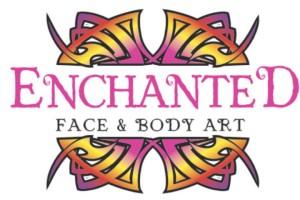 Enchanted Logo White