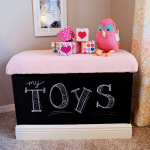 Chalkboard Toy Box Tutorial