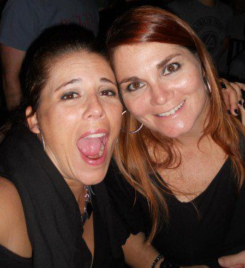 My best friend of 30+ years and I at the New Order concert in July! Can you tell I was excited?!