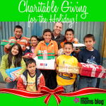 Charitable Giving for the Holidays!