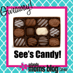 {Giveaway} See's Candies