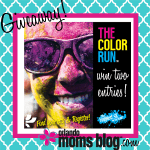 {Giveaway} The Color Run 2014 Kaleidoscope Tour