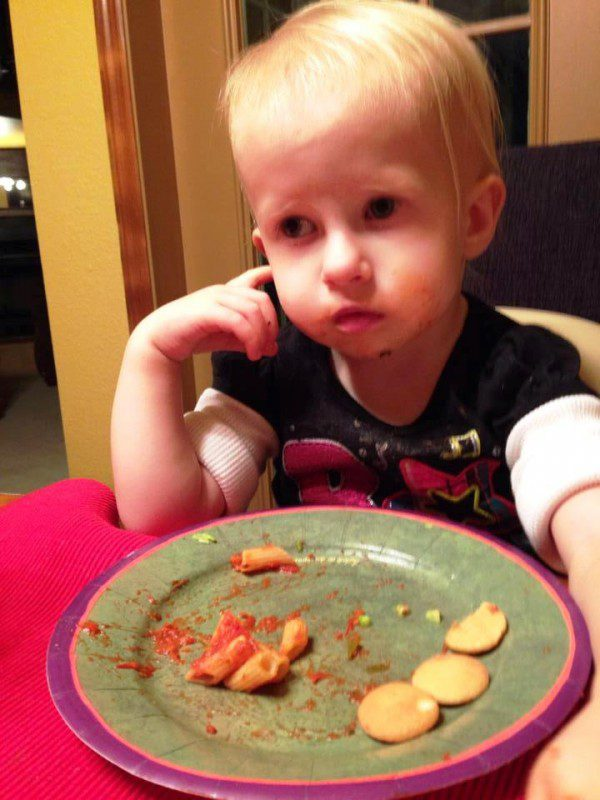 Violet, Kindra C's daughter wishing her Mom had made one of the recipes  we featured today!