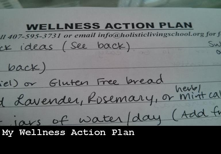 Wellness Action Plan