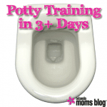 Potty Training in 3+ Days
