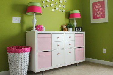 diy ikea hack expedit changing table
