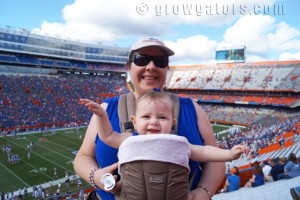 First Gators game