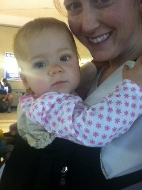 babywearing traveling with toddlers babies