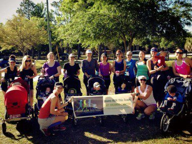East Orlando chapter of Moms RUN This Town Wednesday morning group runs