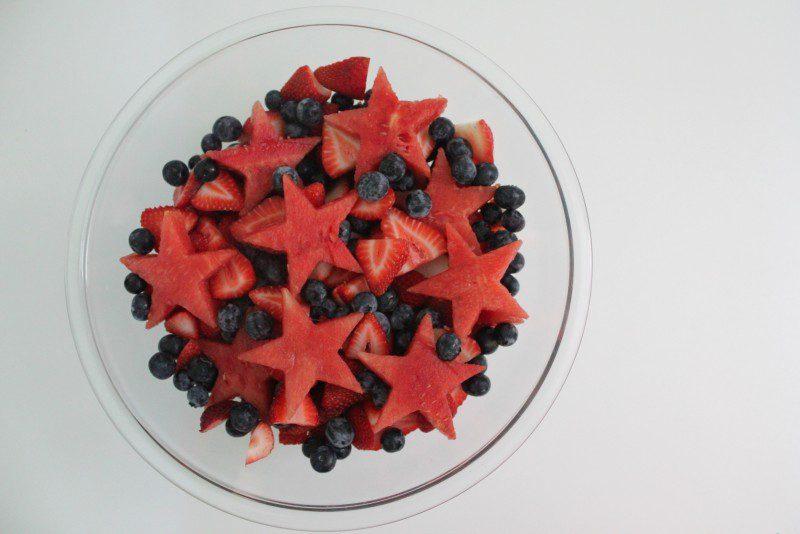 star fruit salad 4th of july