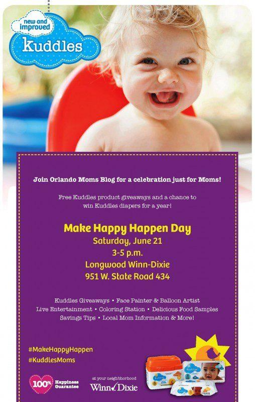 Kuddles - Make Happy Happen Day!