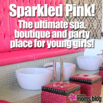 Sparkled Pink, a unique salon just for little girls!