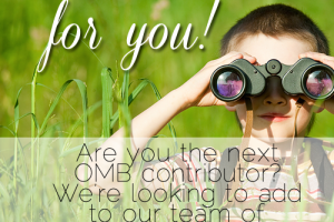 Are YOU the next OMB contributor?