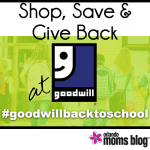 Shop, Save & Give Back at Goodwill – a $25 Challenge!
