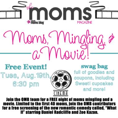 Moms, Mingling, & a Movie!