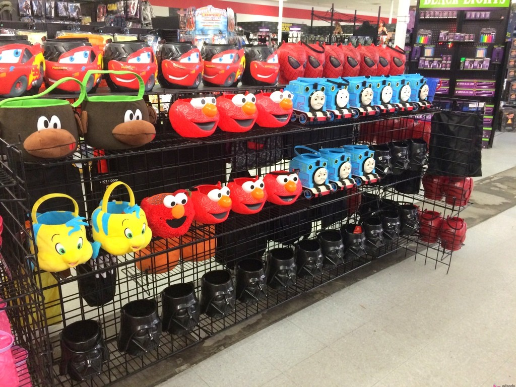Halloween baskets at Spirit Halloween
