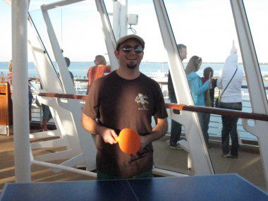 Ping pong's not really my thing. Unless this guy's playing.