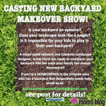 CASTING NEW BACKYARD MAKEOVER SHOW!