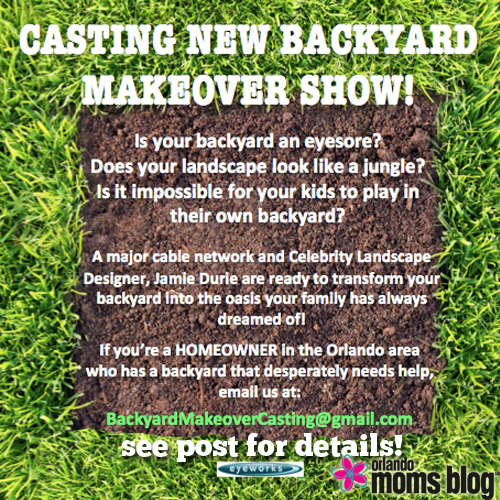 casting new backyard makeover show
