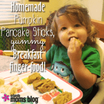 Homemade Pumpkin Pancake Sticks, YUMMY Breakfast finger-food!