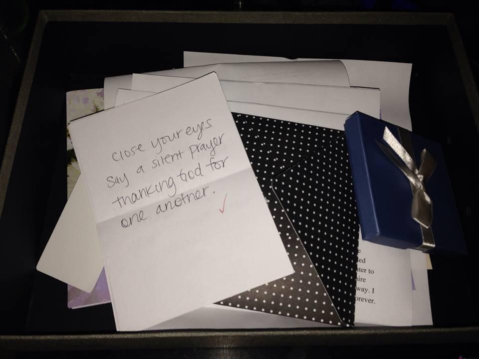 The anniversary box a gift idea