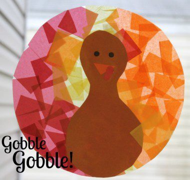 Gobble Gobble Turkey Kids Craft