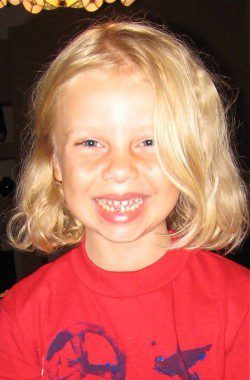 First Toothless Smile for E