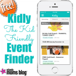 Kidly… The Kid Friendly Event Finder
