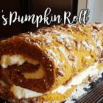Kristi's Pumpkin Roll
