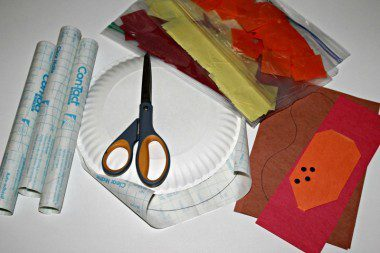 Stained Glass Turkey Craft Materials