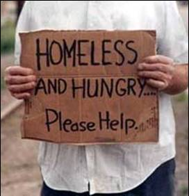 Homeless-Hungry