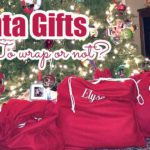 Santa Gifts – To Wrap or Not?