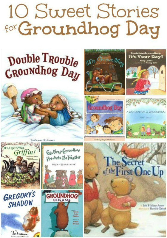 10 Sweet Stories for Groundhog Day