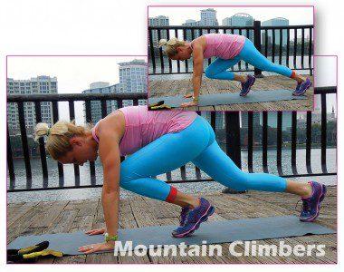 Mountain Climbers: 60 sec