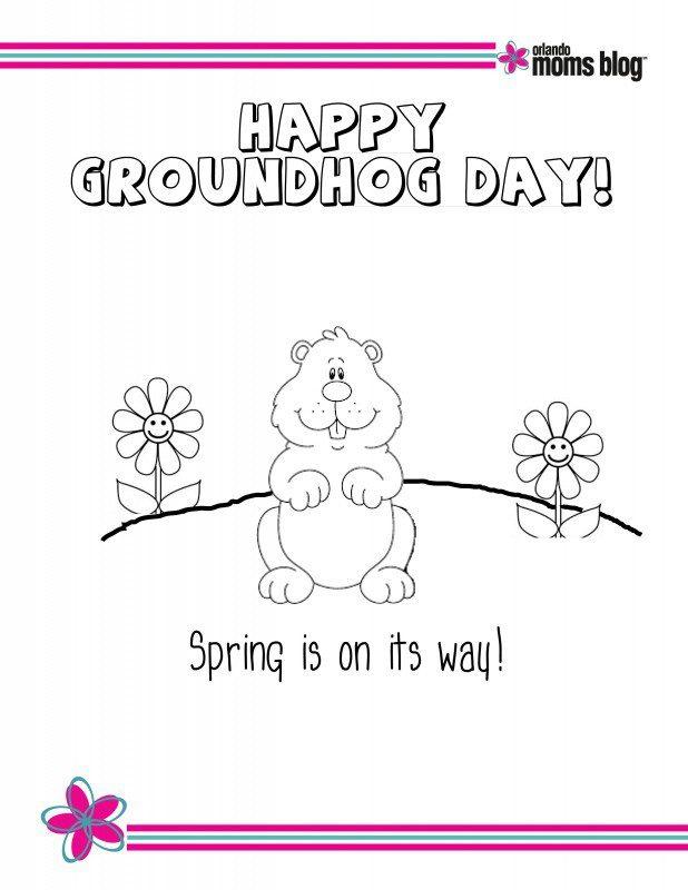 Groundhog Day Printable pg2