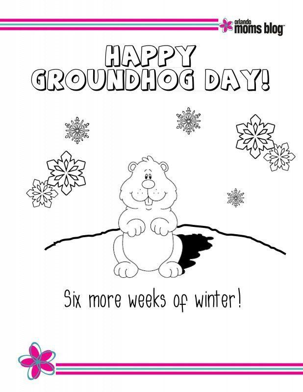Groundhog Day Printable pg3
