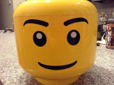 The Lego Head!