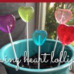 Growing Heart Lollipops