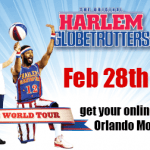 The Globetrotters are coming to town!
