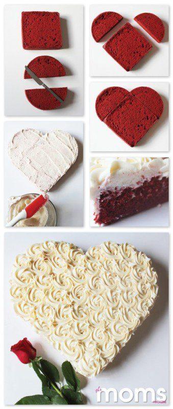Cake Decorating Ideas Red Velvet : Red Velvet Cake {plus decorating demo!}