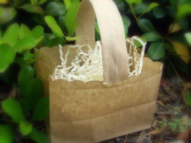 Paper Bag Easter Basket