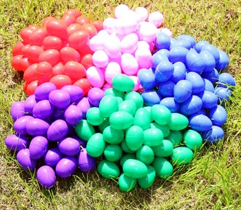 Color Coded Plastic Eggs