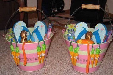 "Personalized Easter ""Buckets"""
