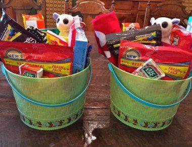 Easter baskets in Louisiana