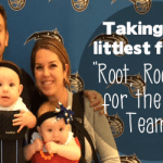 "Taking your littlest fans to ""Root, Root, Root for the Home Teams!"""