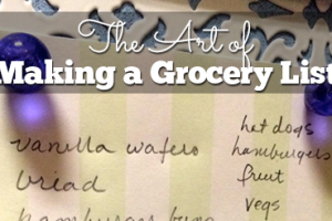 The-Art-of-Making-a-Grocery-List