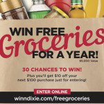 FREE GROCERIES For a YEAR From Winn-Dixie – ENTER NOW