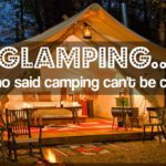 Glamping… who said camping can't be cozy