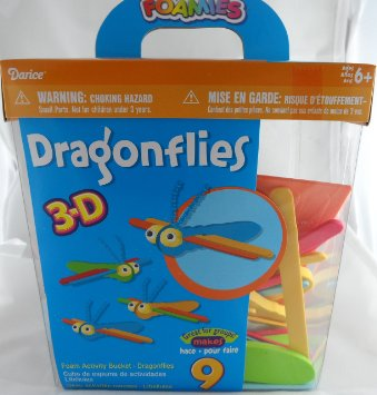 dragonflies-3-d-foam-craft-kit-bucket-makes-9-colorful-dragonflies_9209840