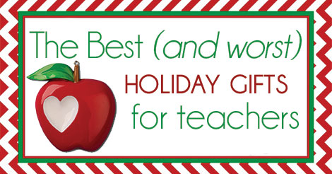 official holiday guide to teacher gifts